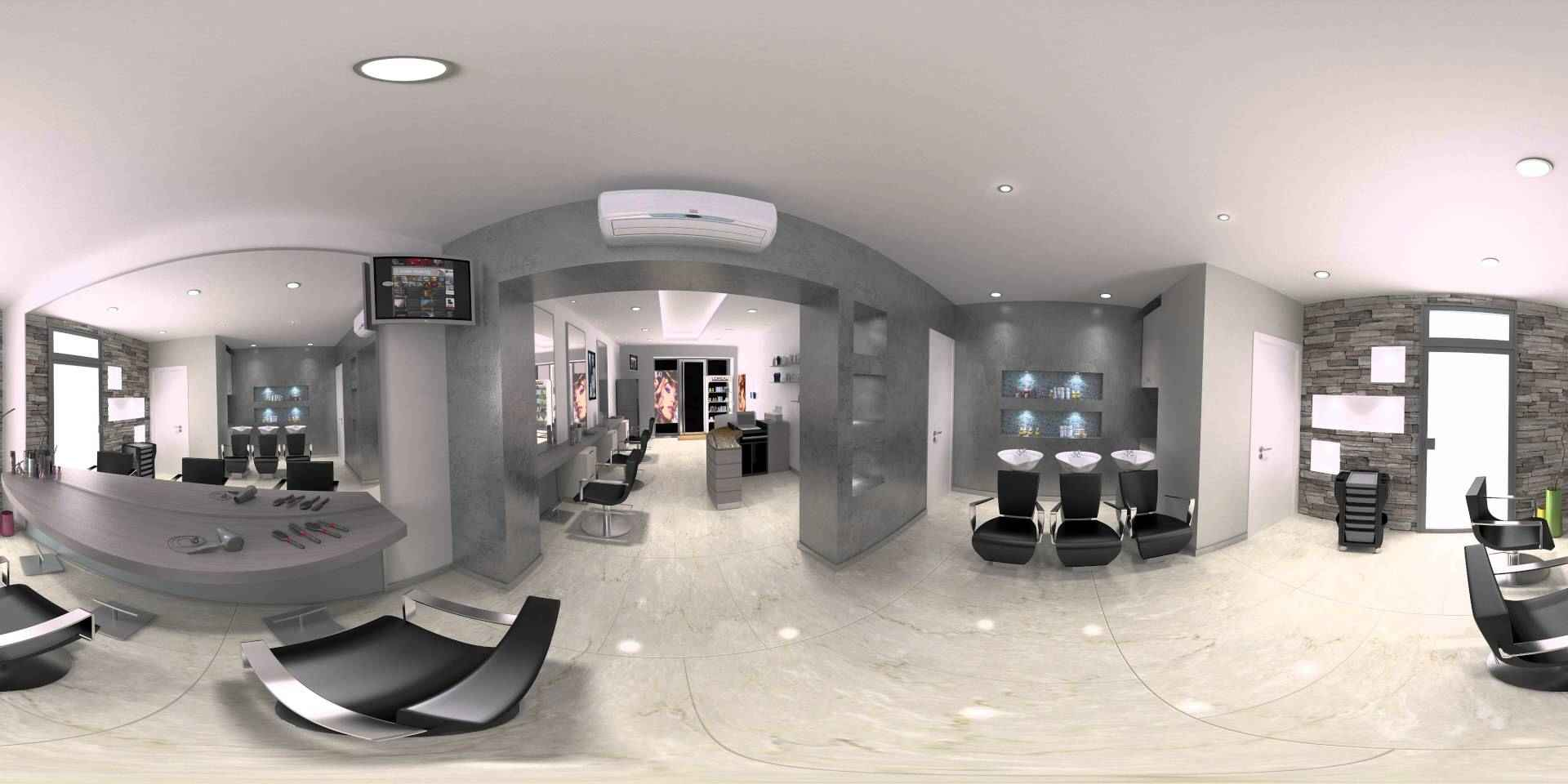360 rendering used to show the inside of a house
