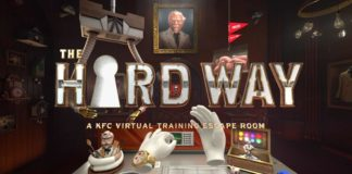 KFC Corporation The Hard Way VR training