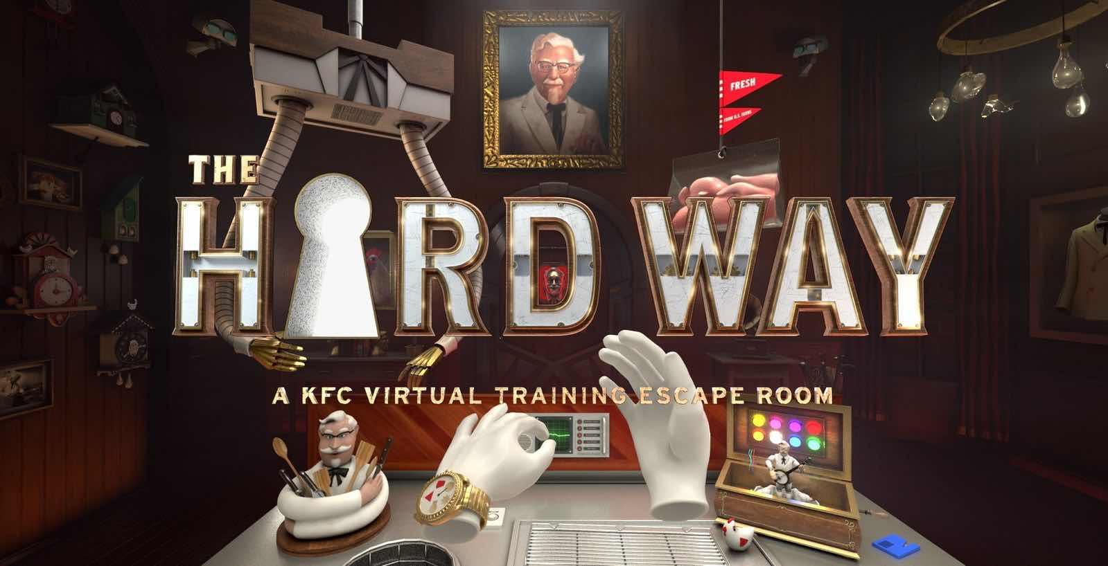 KFC Corporation The Hard Way VR training
