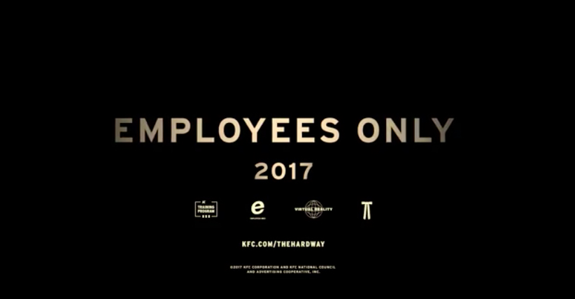 kentucky fried chicken employee training 2017 vr virtual reality kfc