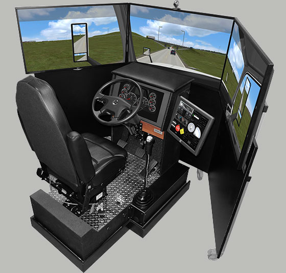 Hyper-Realistic VR Training to Meet Commerce Needs via Trucking