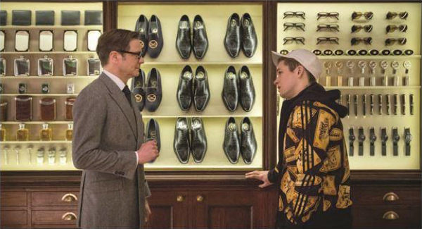 """Now, my point is that the lack of a silver spoon has set you on a certain path that you needn't stay on. If you're prepared to adapt and learn, you can transform. – Harry Hart – """"Kingsmen: The Secret Service,"""" 20th Century Fox, 2014"""