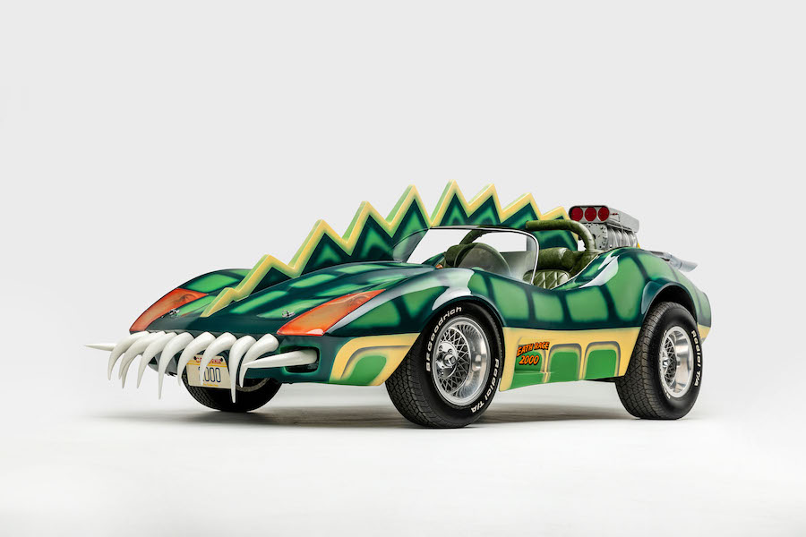 """The Alligator (replica). As depicted in """"Death Race 2000"""" (1975). Designer: James Powers"""
